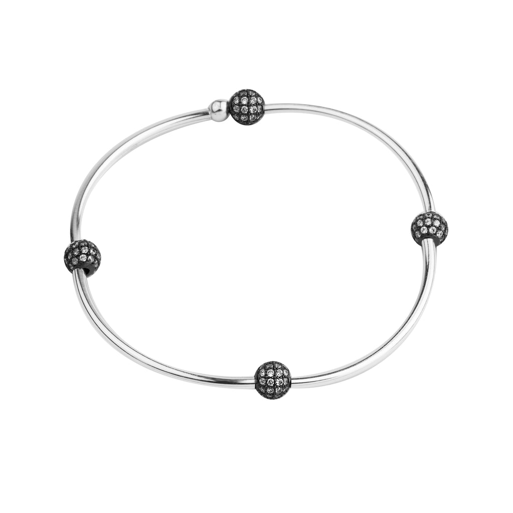 Pave Wish Bangle | Little Layer Bracelet | Ox