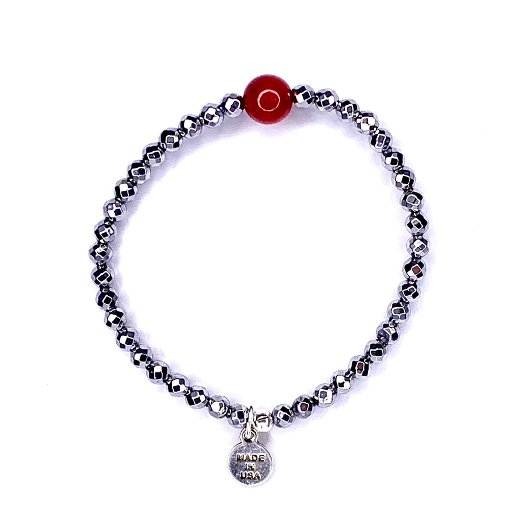 Stones of Hope | Bordeaux - Red Jade | Protection