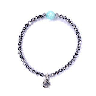 Stones of Hope | Tiffany Blue Agate | Serenity