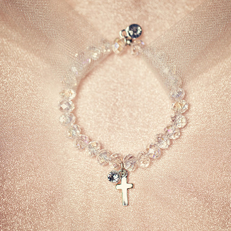 Ballet Slipper | Bracelet | Blush Crystal | Childrens