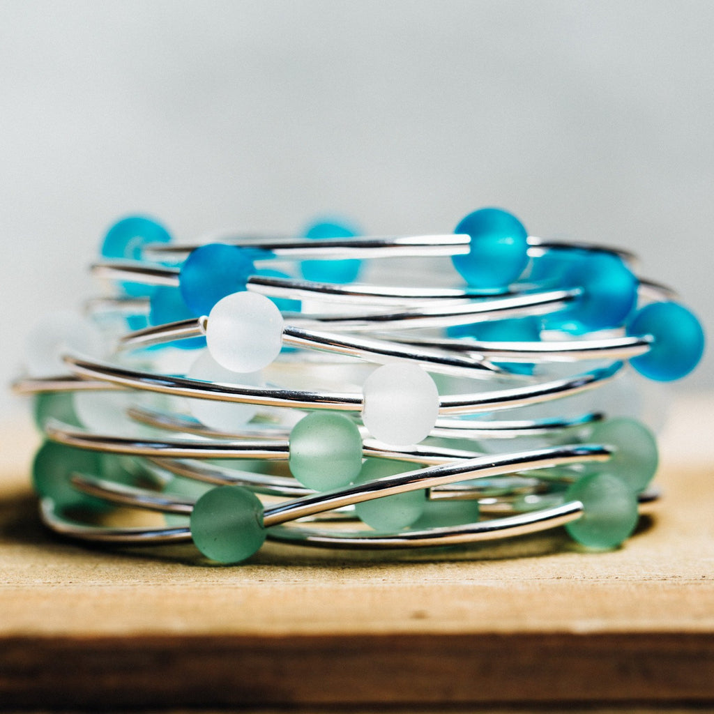 Sample Box | Sea Glass - Select your Coastal Charm Symbol and we do the rest.