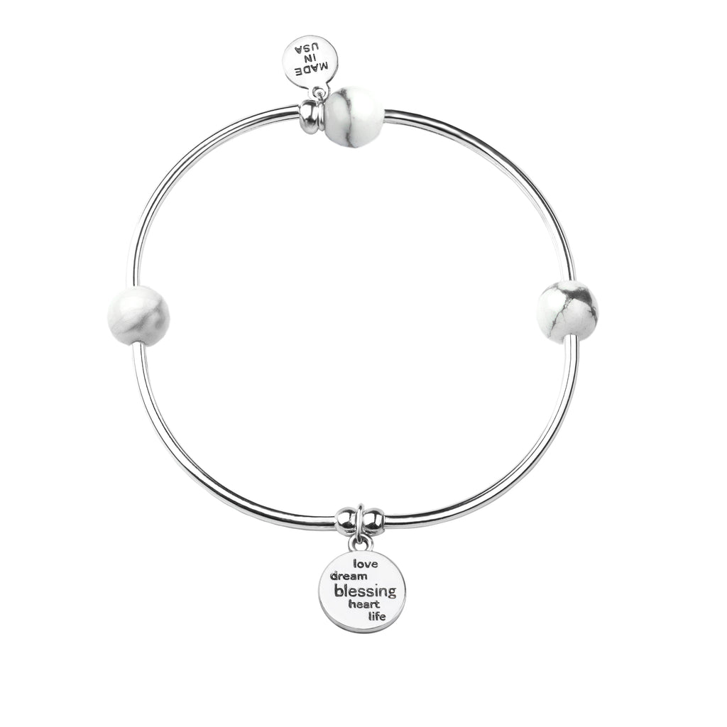 Soft Bangle Charm Bracelet | Daughter | Tiffany Blue