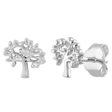 Earring | Mini Post | Tree of Life 3-D