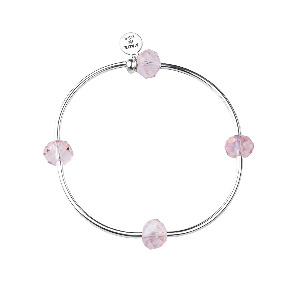 Wish | Bracelet | Blush - Crystal