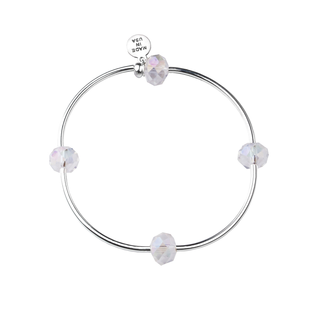 Wish | Bracelet | Clear - Crystal