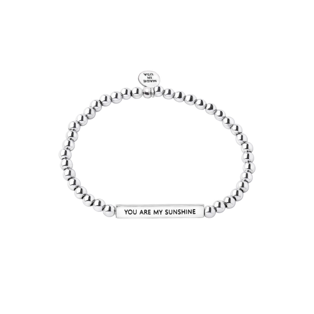 Intention Word Bracelet | You Are My Sunshine
