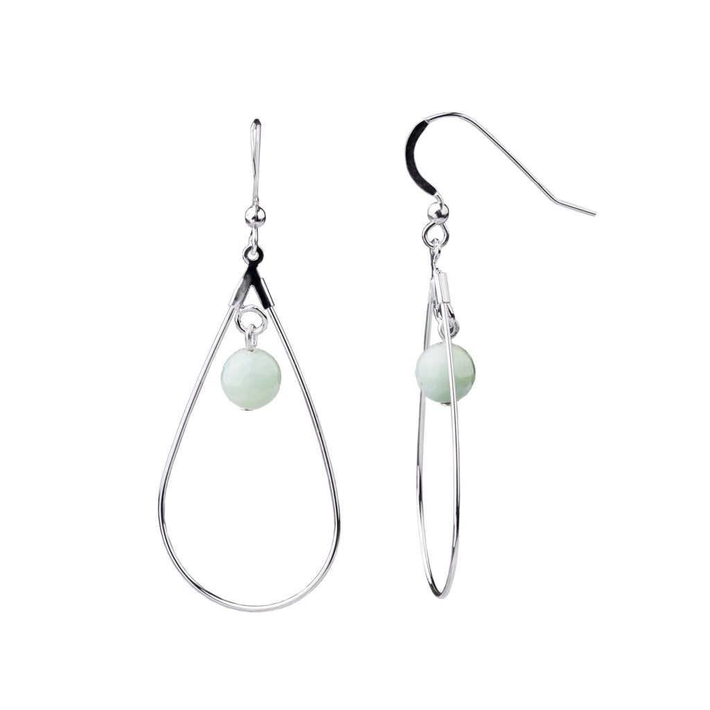 Earring | Teardrop | Amazonite