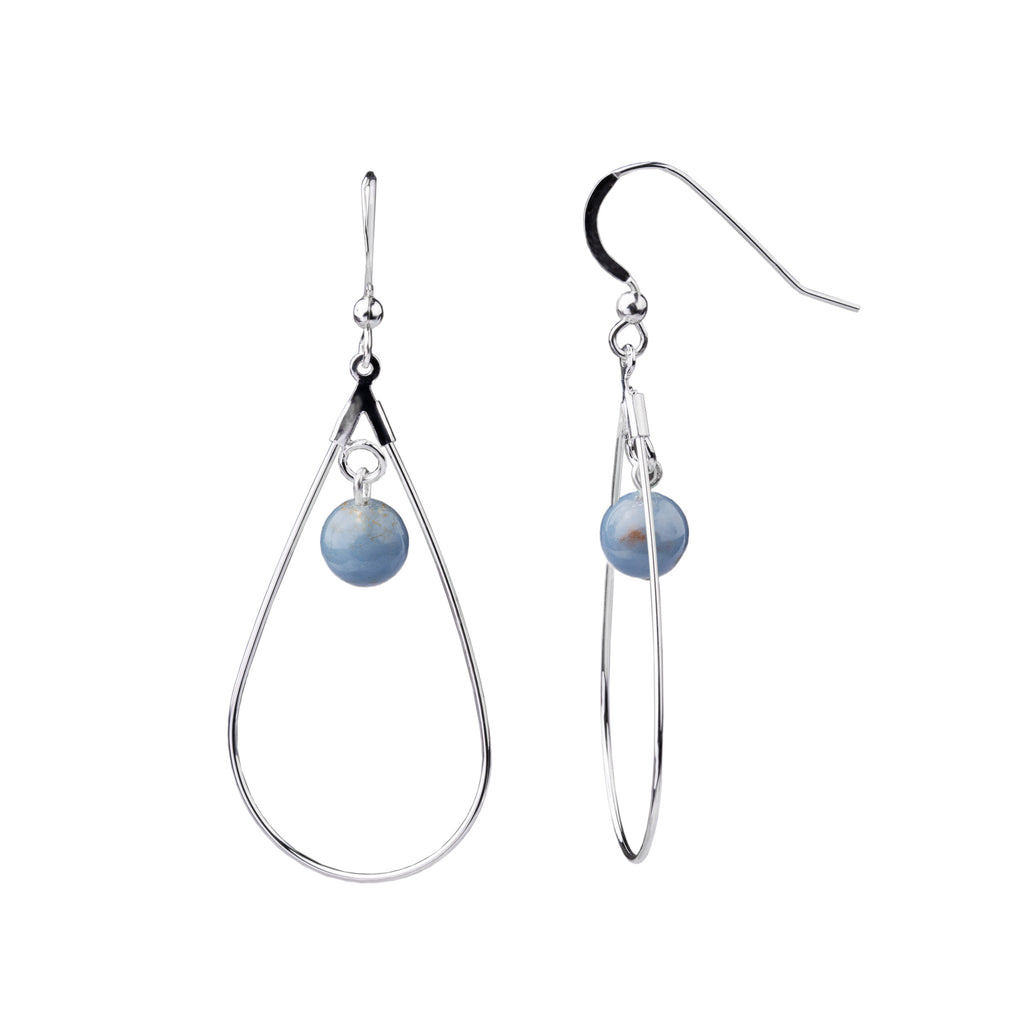 Earring | Teardrop | Angelite