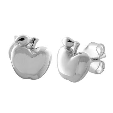 Earring | Mini Post | Apple