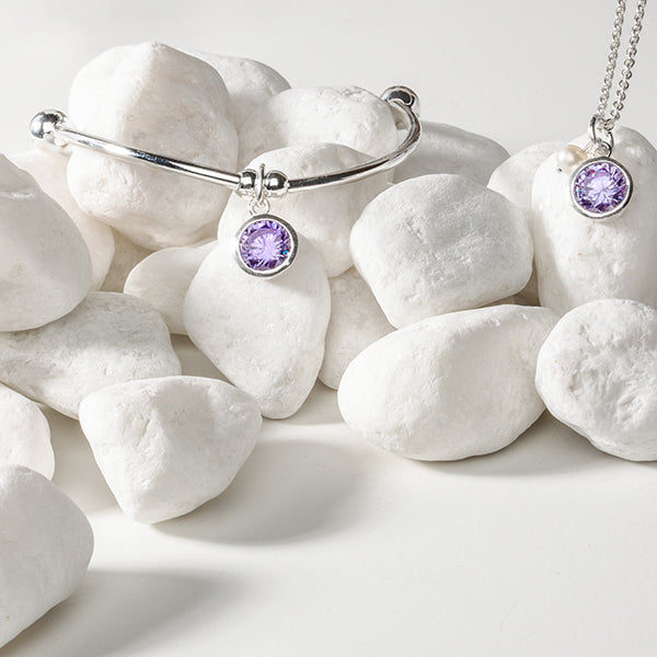 Birthstone | Necklace | February - Amethyst