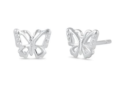 Earring | Mini Post | Butterfly