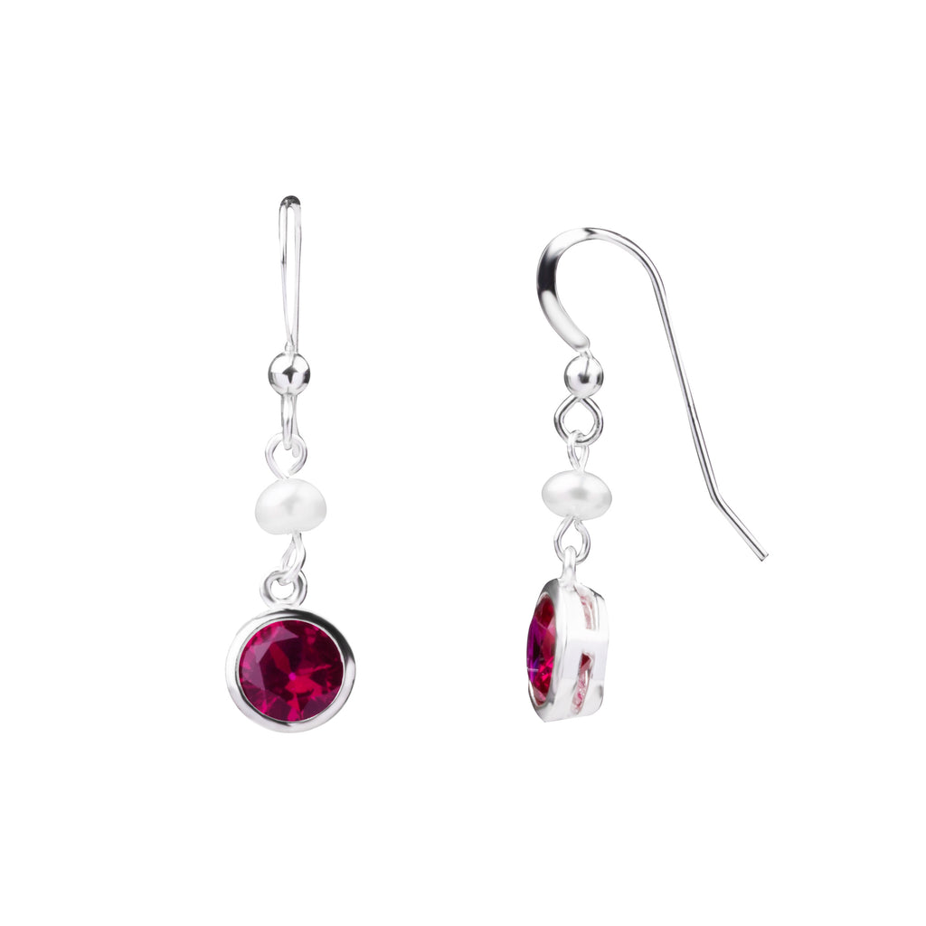 Birthstone | Earring | July - Ruby - Passion