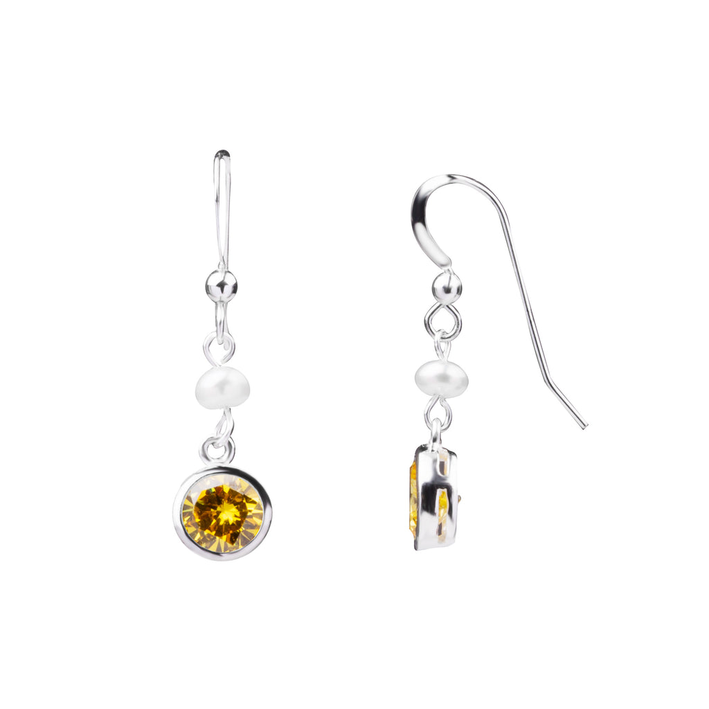 Birthstone | Earring | November - Citrine - Intellectual