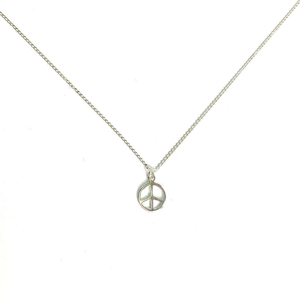 Peace | Little Layer Necklace | Sterling Silver