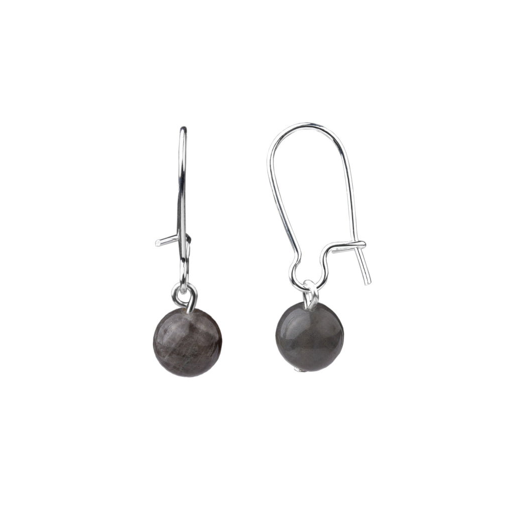 Earring | Kidney Wire - Small  | Labradorite
