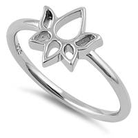 Ring | Lotus | Sterling Silver