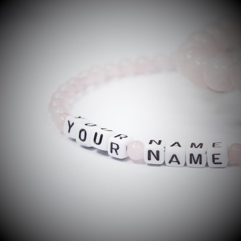 Name / Word Stone Bracelet | Custom