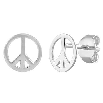 Earring | Mini Post | Peace