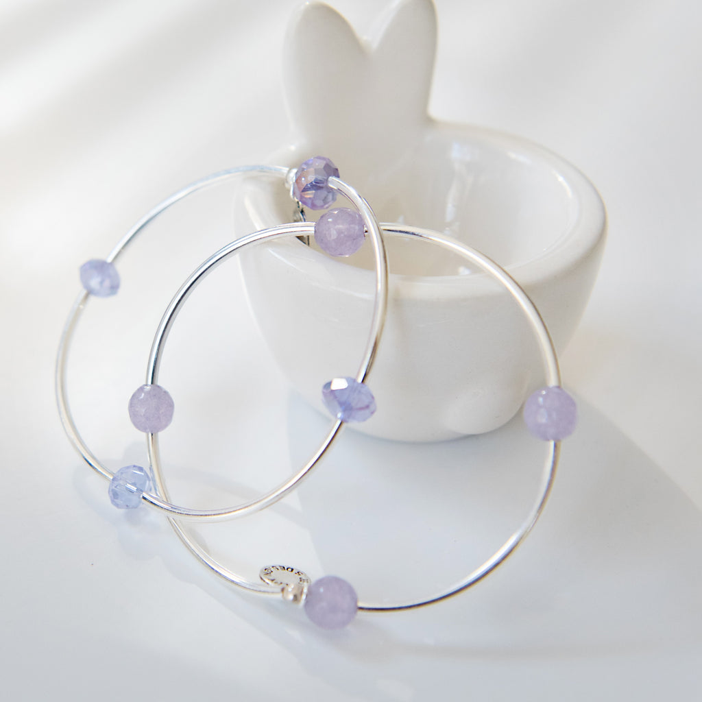 Spring Vibes - Purple Wishing Stone Set | Minimalist