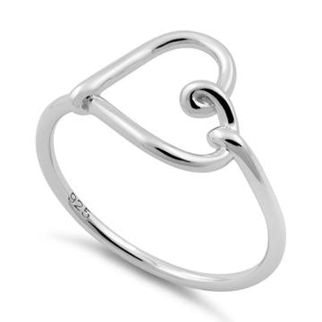 Ring |Heart-Knot | Sterling Silver