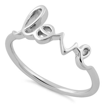 Ring| Love | Sterling Silver