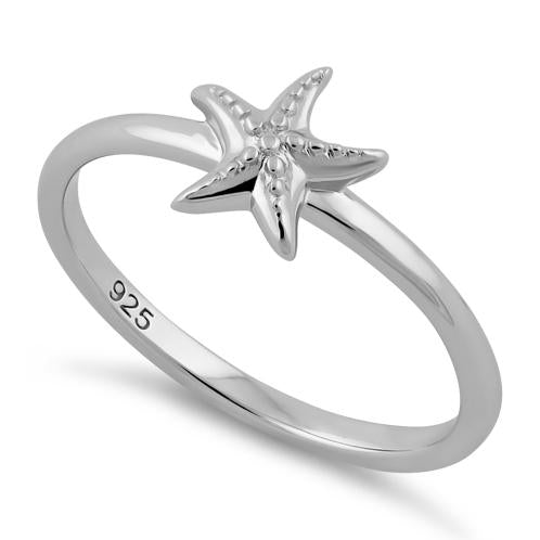 Ring| Starfish | Sterling Silver