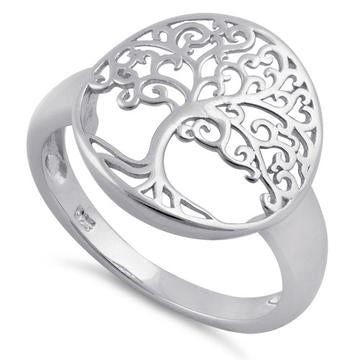 Ring| Tree of Life | Sterling Silver