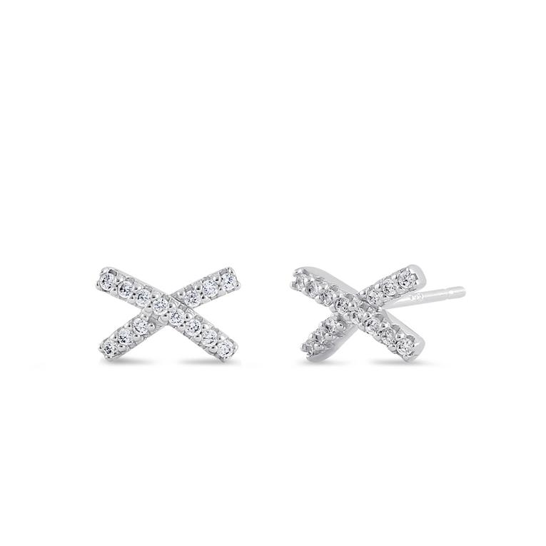 Earring | Mini Post | X - CZ