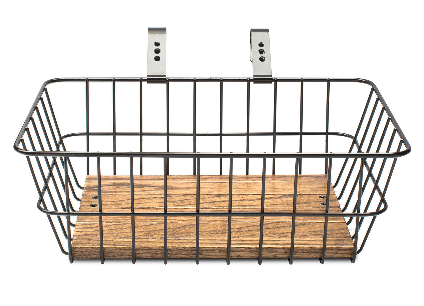 Front Basket With Hand Made Wooden Platform