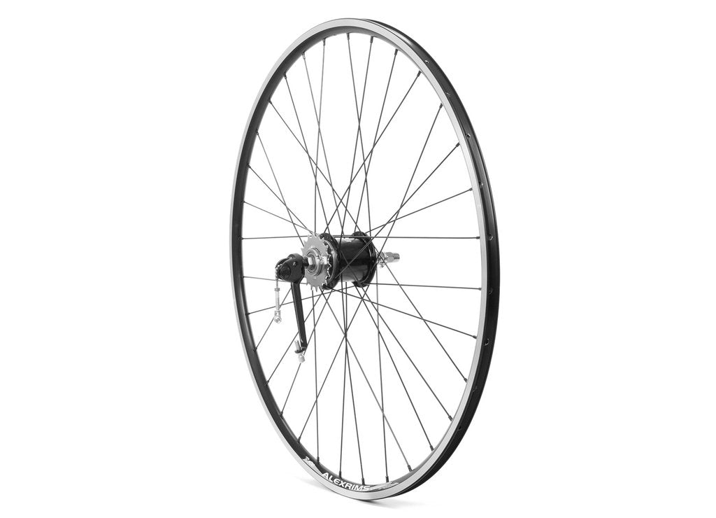 700c Sturmey Archer 3 Speed Internal Rear Wheel w/ SLS30 RT3 Thumb Shifter