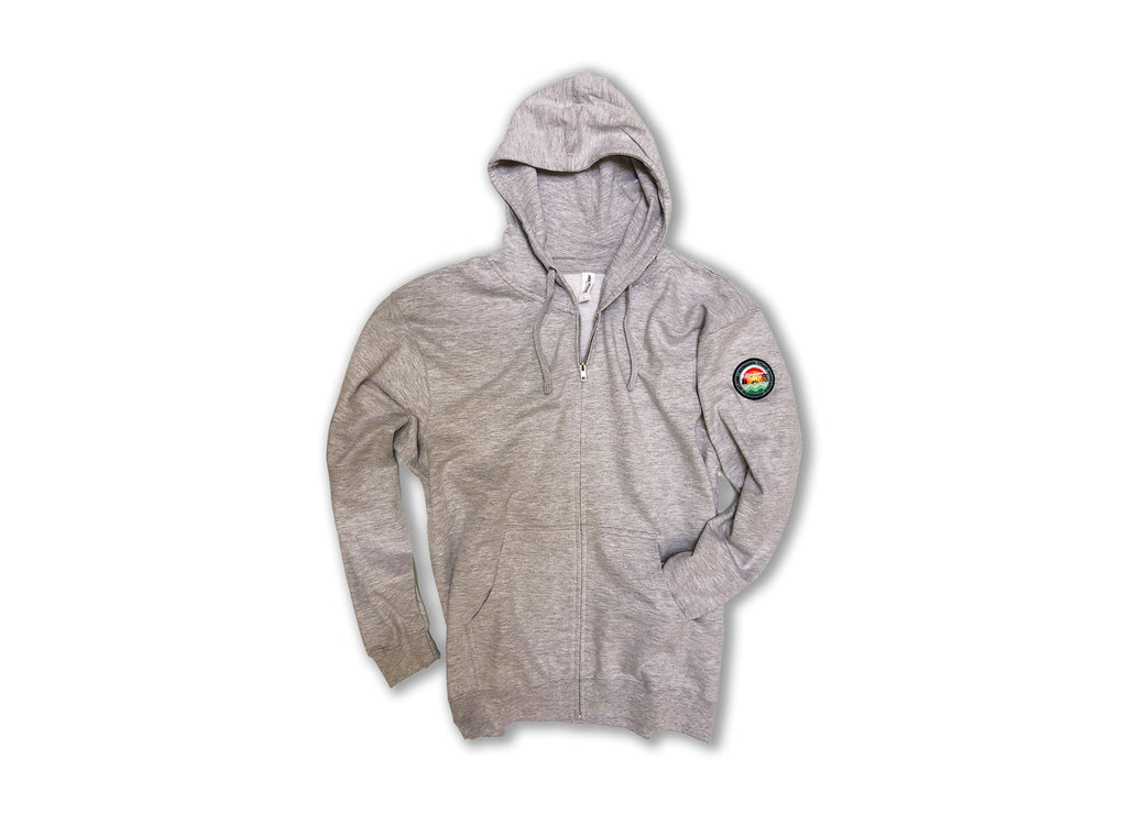 Landscape Embroidered Patch Hoodie
