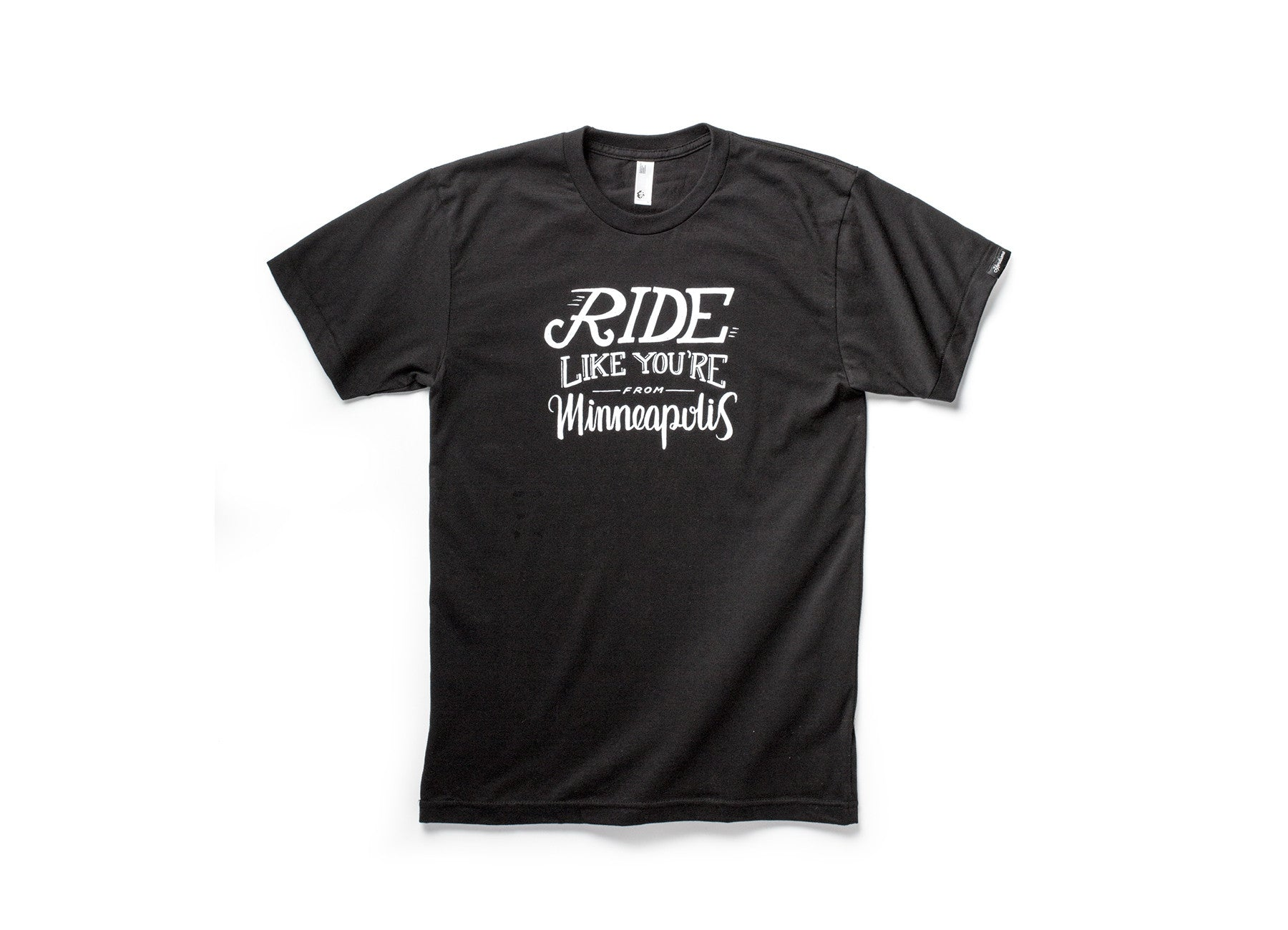 RIDE T-SHIRT WITH SLEEVE TAG