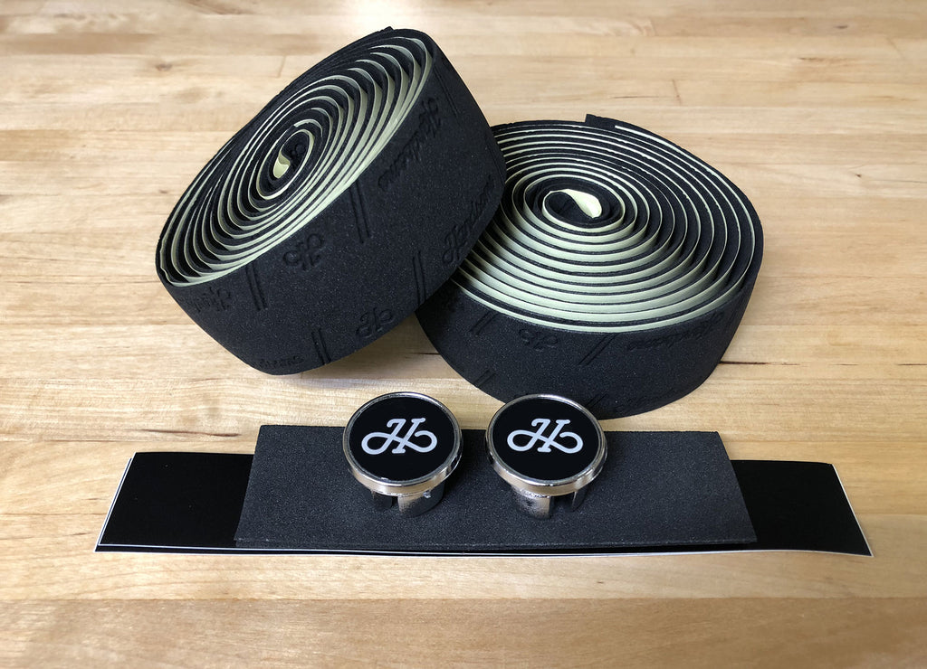 Handsome Embossed Logo Foam with Gel Bar Tape