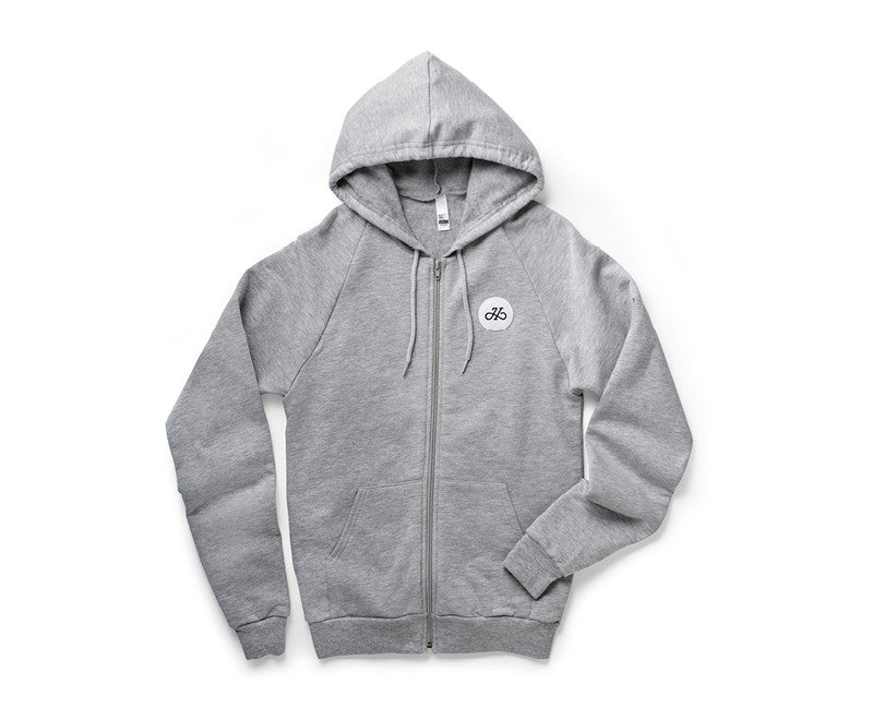 Handsome Cycles Circle H Embroidered Patch Hoodie