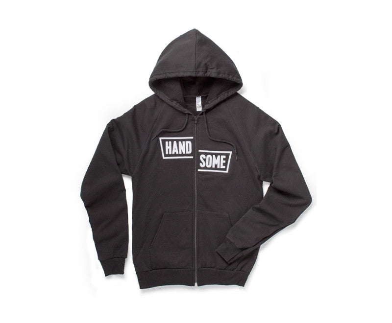 Handsome Cycles Block Zip Hoodie Embroidered