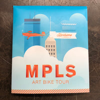 MPLS Art Bike Tour Map
