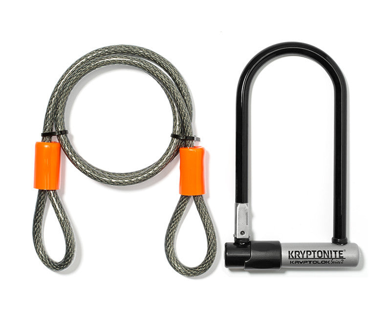 Kryptonite U Lock W/ 4' Cable