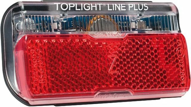 Rear Light B&M Toplight Line Plus BrakeTec With Pulse