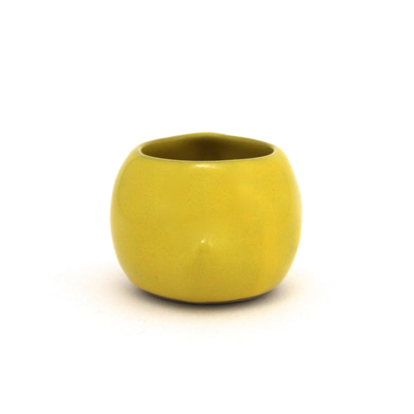 Small Rotund Bird Cup | Canary Yellow