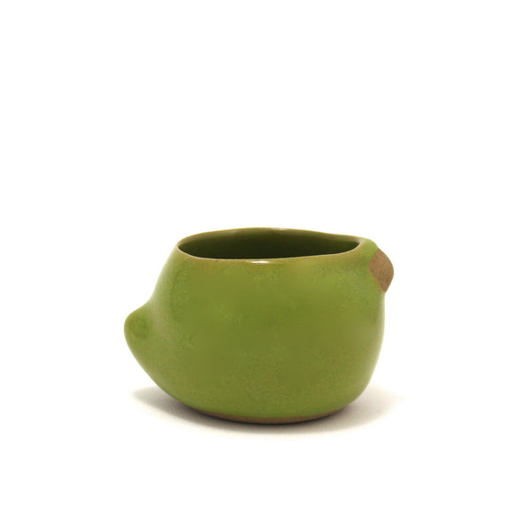 Small Rotund Bird Cup | Parrot Green