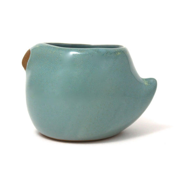 Large Rotund Bird Cup | Robin's Egg Blue