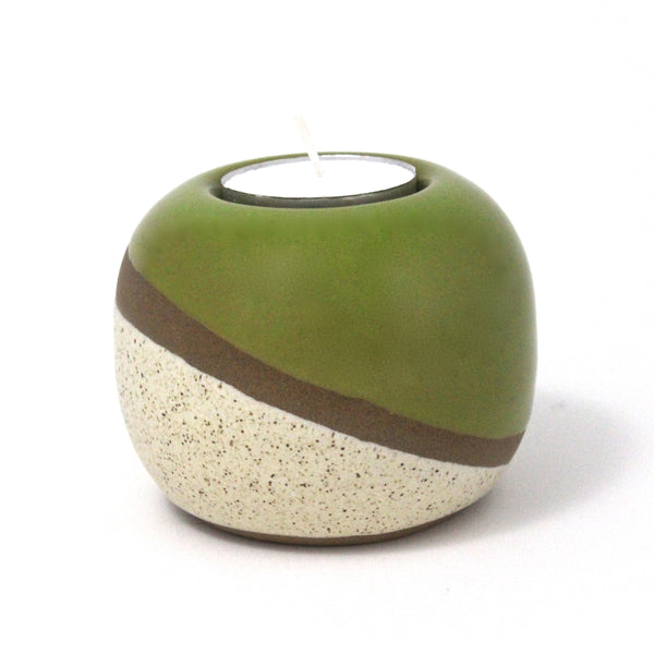 Tealight Candle Holder | Dune | Green
