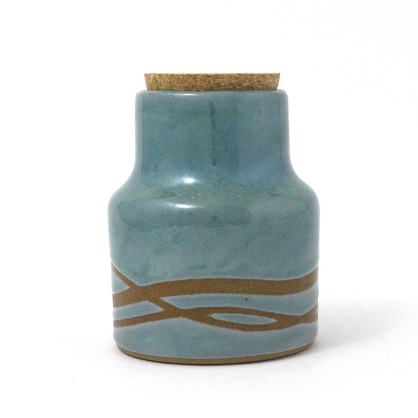 Storage Jars | Waves | Blue