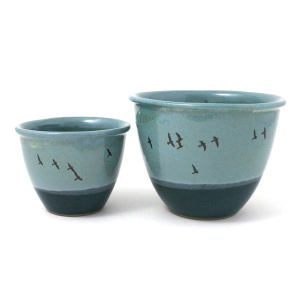 Nesting Bowls Set of 2 | Horizon | Blue