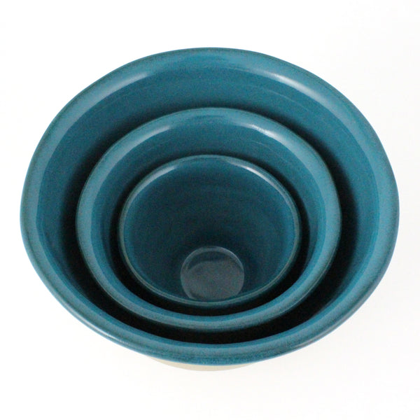 Nesting Bowls Set of 3 | Teal