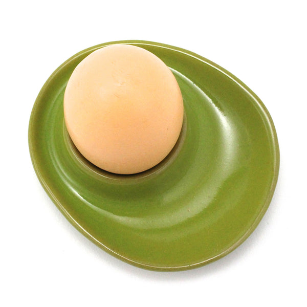 Egg Cup | Parrot Green