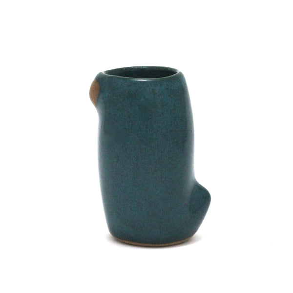 Small Slender Bird Cup | Peacock Teal