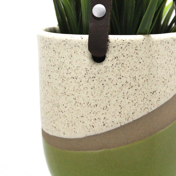 Hanging Pot | Dune | Green
