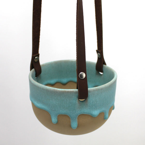 Hanging Pot | Seafoam
