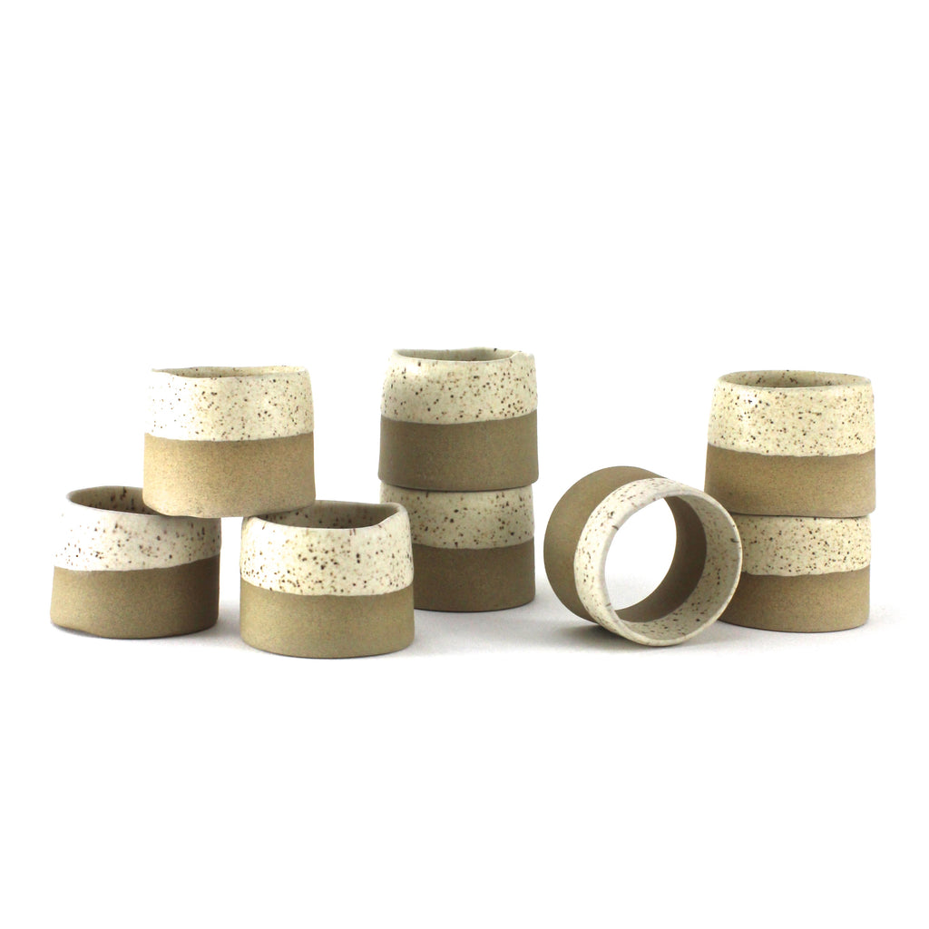 Napkin Rings | Speckled Matte | Small
